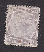 Jamaica, Scott #15, Mint Hinged, Queen Victoria, Issued 1875 - Jamaica (...-1961)