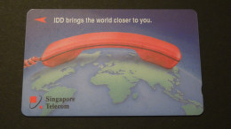 Singapore - Singapore Telecom - Private Card - 5 $ - GPT:4SIDA-1 - Look Scans - Singapour