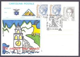 Italia / Italy  2005 - CAI Muggia, Un Saluto Dai Monti, Un Cammino Lungo Vent'anni, Annullo Speciale - Otros