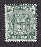 Jamaica, Scott #58, Mint Hinged, Arms Of Jamaica, Issued 1906 - Jamaica (...-1961)