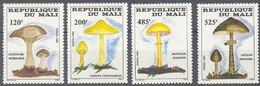 Mali 1985 Yvertn° 515-518 *** MNH Cote 16,50 Euro  Flore Champignons Paddestoelen Mushrooms - Mali (1959-...)
