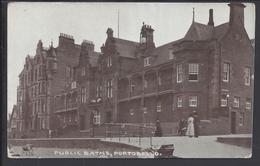 ANGLETERRE - CPA Public Baths Portobello - Ecrite En 1926 - - Autres