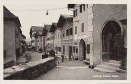 GOLLING - Oberer Markt, Fotokarte 1932, Kunstanstalt C.Jiruschek, Salburg - Golling