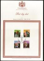 Transkei 1982 Medical Pioneers Health Medicine Discoveries Sc 97-100 FD Sheet # 15048G - Medicine