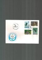 Luxembourg  F D C  Timbres De Bienfaisance 1993 - FDC