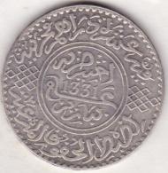 MAROC. 10 DIRHAMS ( 1 Rial) AH 1331 . PARIS .ARGENT - Maroc
