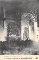 MILITARIA - EVENEMENT - LES FETES DE LA VICTOIRE 13-14 JUILLET 1919 : Le Cénotaphe La Nuit Sous L'Arc De Triomphe CPA - Other