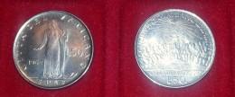 COPPIA DI MONETE DA LIRE 50 VATICANO 1959-1962 PONTEFICE GIOVANNI XXIII SPL/FDC - Vaticano
