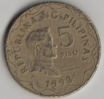 @Y@    Filippijnen   5  Piso  1998    (3595) - Filippijnen