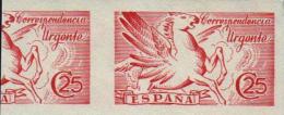 1942 Pegaso - Sin Apellido Del Grabador - Edifil 952er** VC 31,00€ - 1931-50 Nuevos & Fijasellos