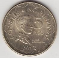 @Y@    Filippijnen  5  Piso   2012      (3601)  Unc - Filippijnen