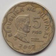 @Y@    Filippijnen  5  Piso   2002      (3604) - Filippijnen