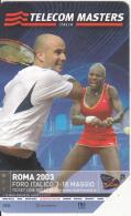 ITALY - Tennis, Telecom Italia Masters Roma 2003, Exp.date 31/12/03, Used - Sport