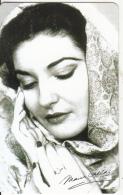 ITALY - Maria Callas/Divina, 108a Veronafil, Tirage 20000, Exp.date 30/06/08, Used - Italy