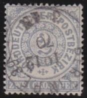 Nord       .   Michel        .   5      .       O     .      Gebraucht   .     /    .   Cancelled - Norddeutscher Postbezirk
