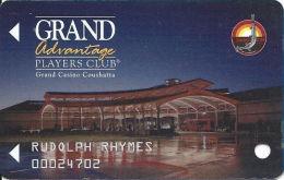 Grand Casino Coushatta - Kinder, LA - Slot Card  (BLANK) - Casino Cards