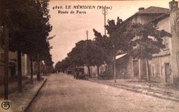 LE MERIDIEN (RHONE - 69) - RARE CPA ANIMEE A VOIR - Francia