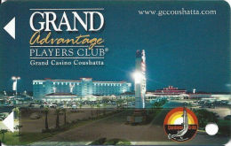 Grand Casino Coushatta - Kinder, LA - Slot Card   (BLANK) - Cartes De Casino
