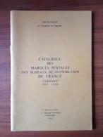 POTHION. V - CAT. DES MARQUES POSTALES DES BUREAUX DE DISTRIBUTION - CURSIVES(1819-1858) - EDIT 1989 - Frankrijk