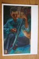 """Pakhomov """"Archer"""". Old Postcard 1980s - Arch - Little Boy - Tir à L'Arc"""