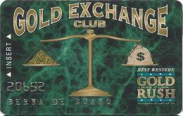 Gold Rush Casino - Cripple Creek, CO - Slot Card - Casino Cards