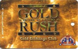Gold Rush & Uncle Sams Casinos - Cripple Creek, CO - Slot Card     (BLANK) - Casino Cards