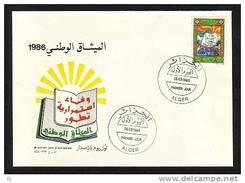 Algeria, Scott Cat. #809. Charter Issue. First Day Cover - Algeria (1962-...)