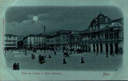 NICE - Place Du Casino Et Place Masséna - Piazze