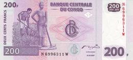 CONGO DEMOCRATIC REPUBLIC 200 FRANCS 2007 P-99 UNC [ CD321a ] - Democratische Republiek Congo & Zaire