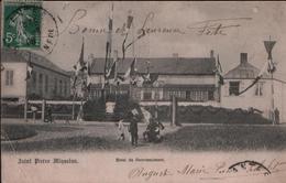 CPA SAINT PIERRE ET MIQUELON - 1908 - Hôtel Du Gouvernement - (Animée) - Raphael Tuck & Fils - Saint-Pierre-et-Miquelon
