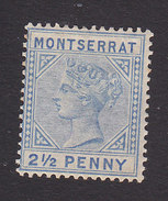Montserrat, Scott #8, Mint Hinged, Queen Victoria, Issued 1884 - Montserrat
