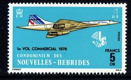 1976 Concorde  1er Vol Commercial  ** - Französische Legende