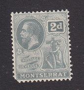 Montserrat, Scott #61, Mint Hinged, King George V, Issued 1922 - Montserrat