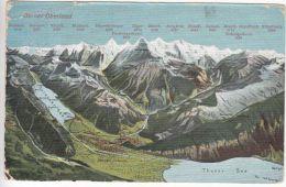 Switzerland: Postcard, Berner Oberland; Grindelwald To New Zealand, 18 Oct 1908 - Switzerland