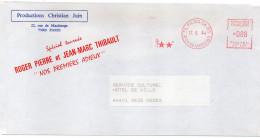 """1984-EMA  Paris 06 Bis**-Productions Christian Juin-Spécial Tournée-ROGER PIERRE Et JEAN-MARC THIBAULT """"Nos 1ers Adieux"""" - Acteurs"""