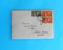 WW2 - Italy Occupation Of Montenegro ZELENICA , CATTARO To Kastel Vecchio Spalato - Occupazione Italiana Del Montenegro - 9. Occupazione 2a Guerra (Italia)