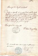 1870  - PARROCCHIA PIAZZOLA SUL BRENTA PADOVA - Religione & Esoterismo