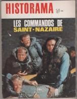 HISTORAMA DE 1968 - COMMANDOS DE SAINT NAZAIRE, L EXECUTION DE HEYDRICH, SOLDATS DU PAPE, INTERVENTION FRANCAISE MAROC.. - Frans