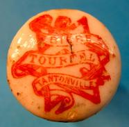 BOUCHON EN PORCELAINE BIERE TOURTEL TANTONVILLE ( PETITES LETTRES ) - Bière