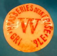 BOUCHON EN PORCELAINE BRASSERIES DE LA FRISE GRENOBLE W - Bière