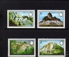 BELIZE - 1983 - QE II - MAYAN MONUMENTS - MINT - MNH - SET OF 4! - Belize (1973-...)