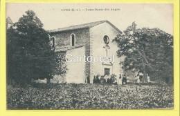 CPA 04 LURS  Notre Dame Des Anges ( Sortie De Messe ) - Francia
