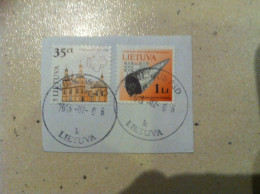 Lithuania Stamps Used 2011 And 2012 - Lituania