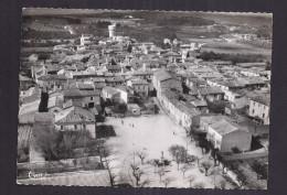 CPSM 30 - VERGEZE - Vue Aérienne - Place De La République Et Le Village - TB PLAN Aérien Intérieur Village Avec Détails - Vergèze