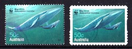 Australia 2006 Blue Whale 50c Both Forms Used - - 2000-09 Elizabeth II
