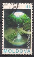 Moldawien (2001)  Mi.Nr.  388  Gest. / Used  (13ew15)  EUROPA - Moldawien (Moldau)