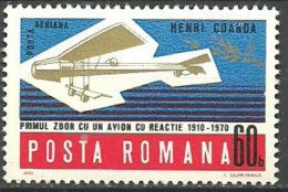 RUMANIA 1970 Mi:RO 2896, Yt:RO PA227, Rom:RO 750 ** - Aéreo
