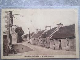GUERLESQUIN . LA RUE DU CIMETIERE - Guerlesquin