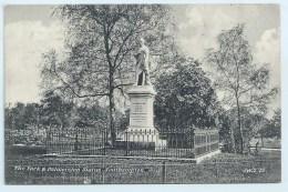 Southampton - The Park Amd Palmerston Statue - J Welch - Southampton