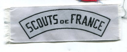 M255 PATCH ECUSSON TISSUS SCOUT DE FRANCE 40X120MM - Ecussons Tissu